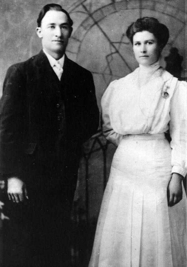 Hyrum-Wesley-and-Elizabeth-Jane-Crockett