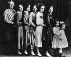 Roxana-Edna-Sybil-Barbara-Leah-Pauline-Alta-Donna