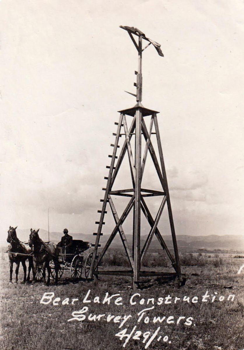 Survey-tower